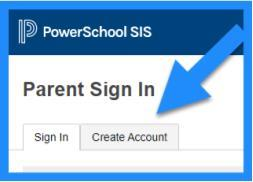 PowerSchool Create Account image